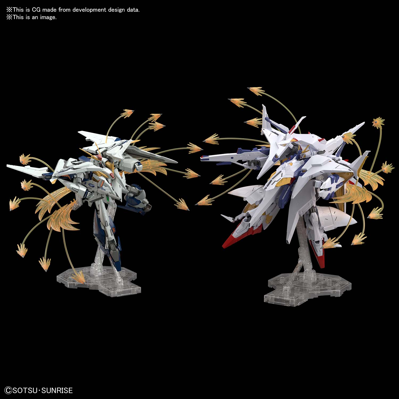 "Bandai 1/144 Xi Gundam VS Penelope Funnel Missile Effect Set ""Hathaway's Flash"", Bandai Spirits Hobby HGUC"