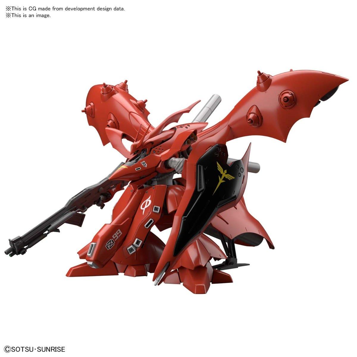 """Bandai Spirits Hobby HGUC 1/144 #240 Nightingale """"Char's Counterattack Beltorchika Children"""", Model Kit"""
