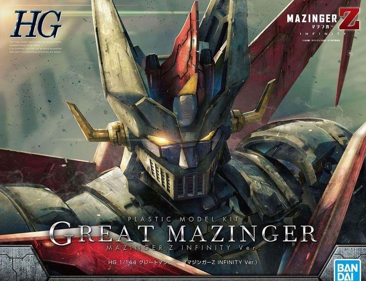 "Bandai Great Mazinger (Mazinger Z Infinity Ver.) ""Mazinger Z"", Bandai HG 1/144"