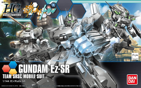 "Bandai #21 Gundam Ez-SR ""Gundam Build Fighters Try"", Bandai HGBF 1/ 144"