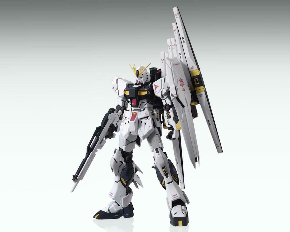 """Bandai Nu Gundam (Ver. Ka) """"Char's Counterattack"""", Bandai MG"""