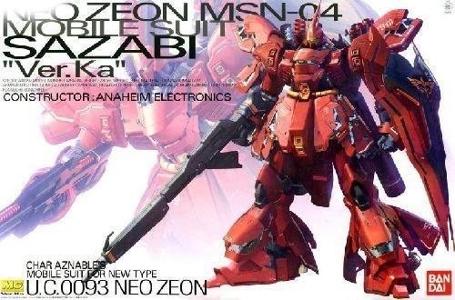 Bandai MG 1/100 MSN-04 Sazabi Ver.Ka