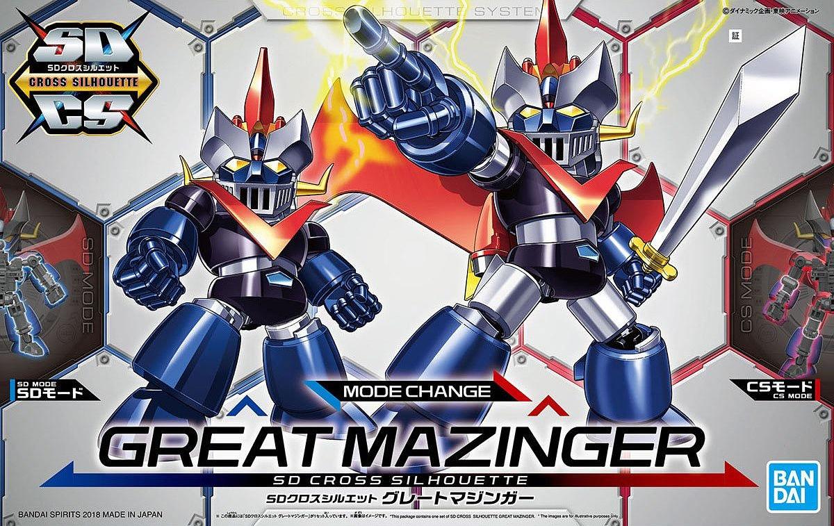 Bandai SDCS Mazinger Z Great Mazinger