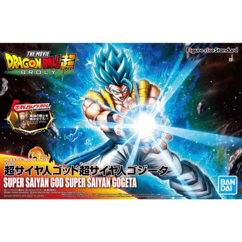 "Bandai Super Saiyan God Super Saiyan Gogeta ""Dragon Ball Super"", Bandai Figure-rise Standard"
