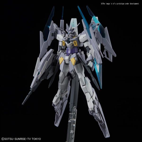 """Bandai #24 Gundam Agell Magnum (SV Ver.) """"Build Divers"""", Bandai HGBD 1/144"""