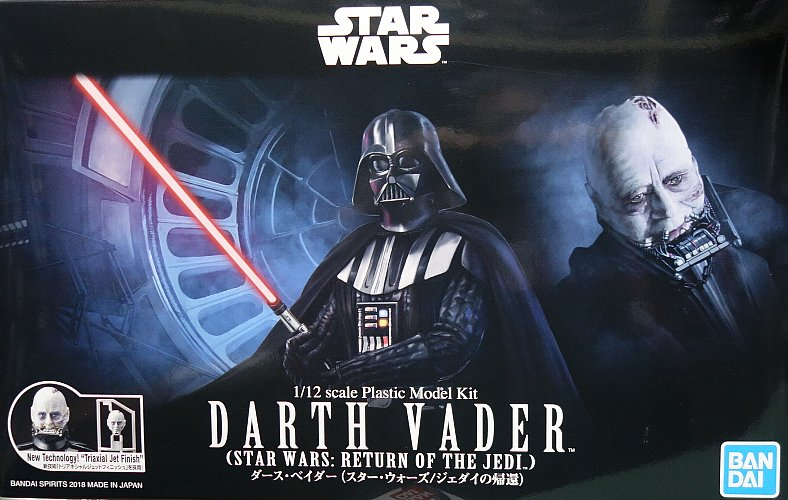 "Bandai Darth Vader (Return of the Jedi Ver.) ""Star Wars"", Bandai Star Wars 1/12 Plastic Model"