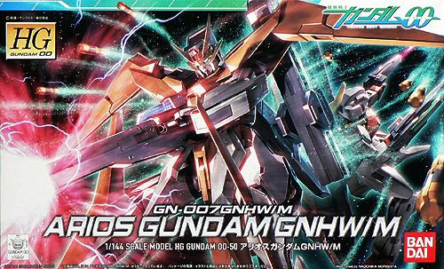 "Bandai #50 Arios Gundam GNHW/R ""Gundam 00"", Bandai HG 00"