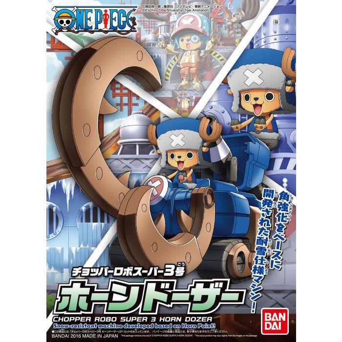 """Bandai Chopper Robo Super 3 Horn Dozer """"One Piece"""", Bandai Chopper Robo"""