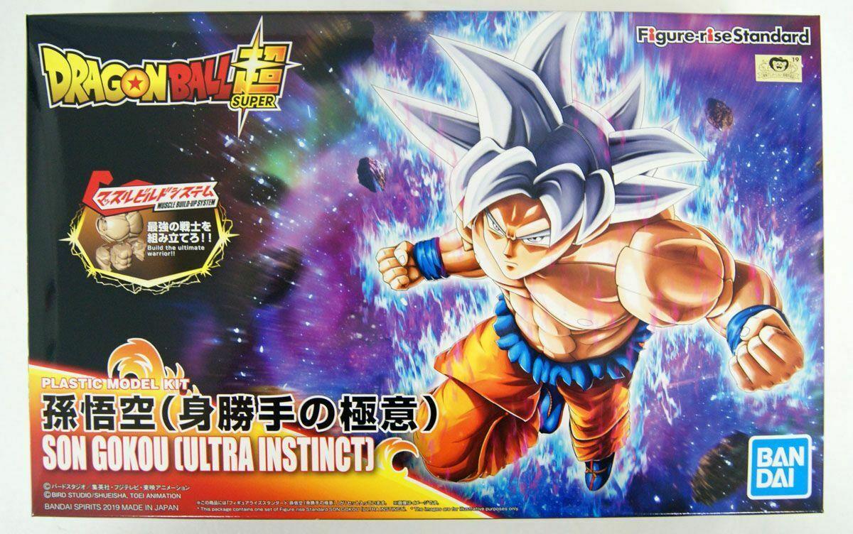 "Bandai Son Goku Ultra Instinct ""Dragon Ball Super"", Bandai Figure-rise Standard"