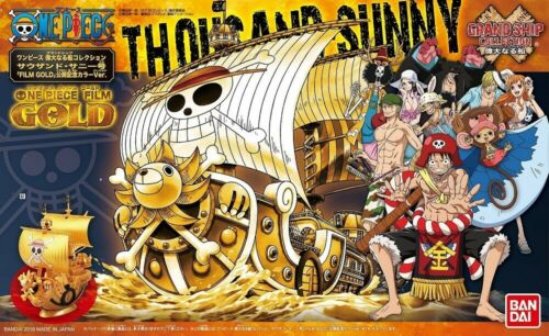 "Bandai Thousand Sunny (Commemorative color Ver.) ""One Piece Film Gold"", Bandai Grand Ship Collection"