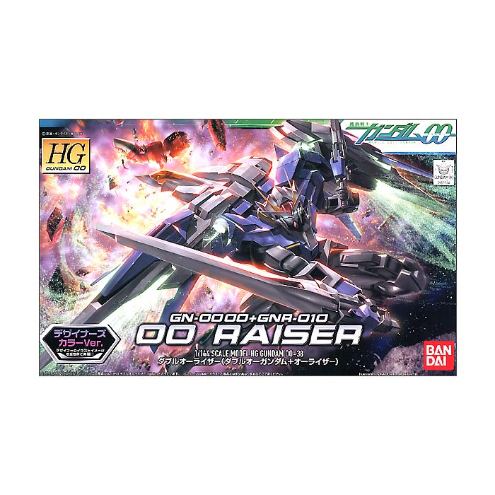 """Bandai #38 00 Raiser (Designer""""s Color Ver.) """"Gundam 00"""", Bandai HG 00"""