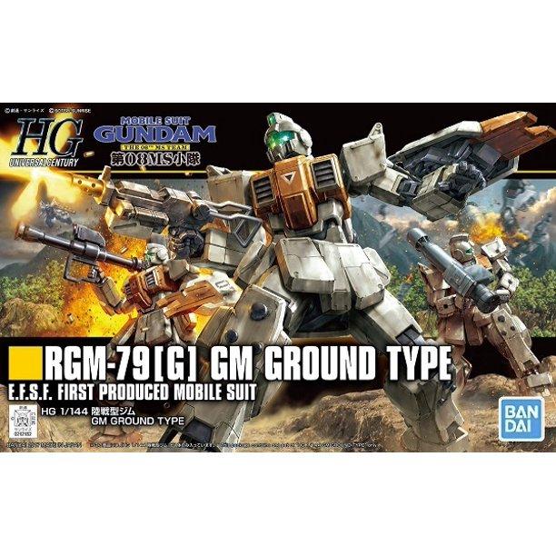 """Bandai #202 RGM-79[G] GM Ground Type """"Gundam 08th MS Team"""" Bandai HGUC"""