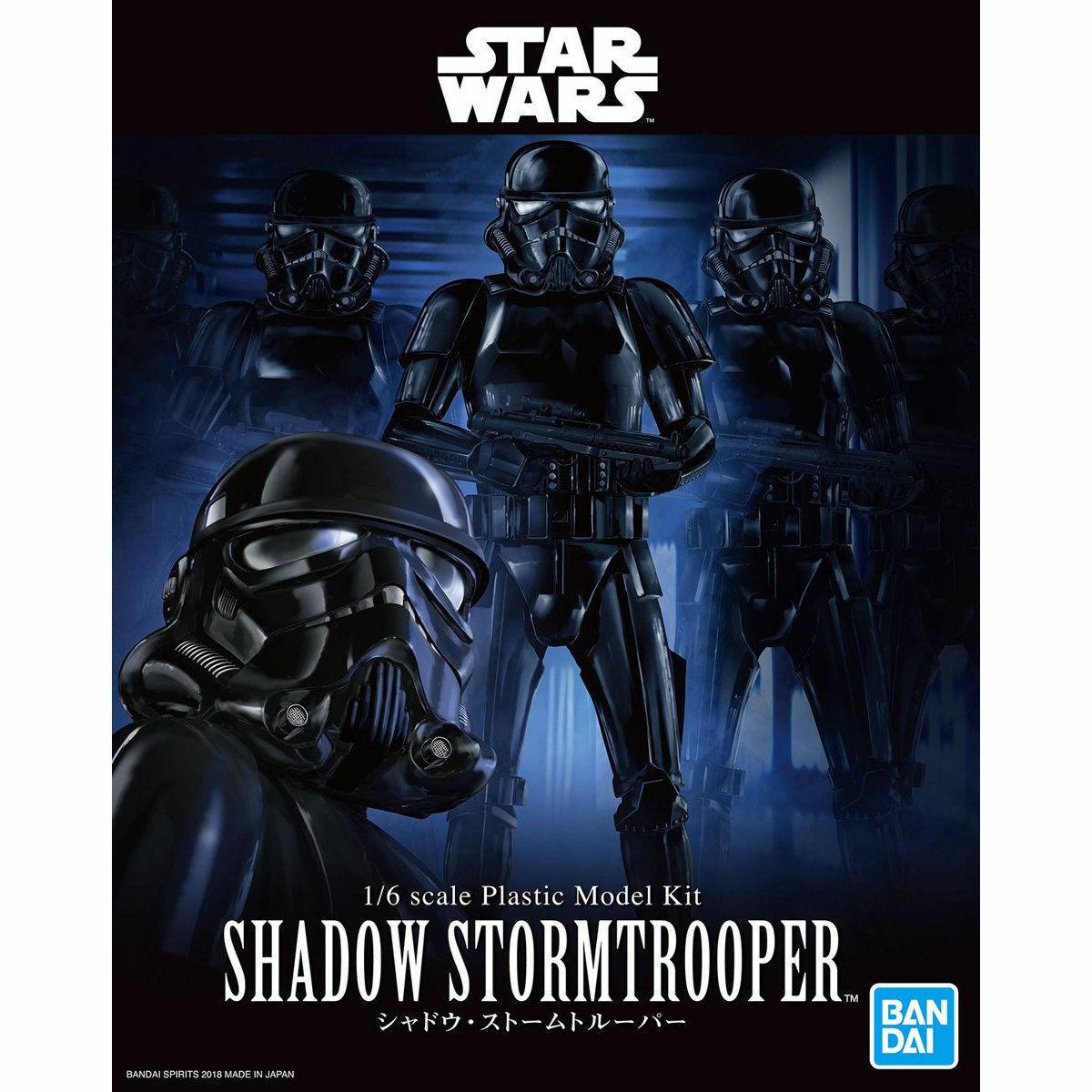 """Bandai Shadow Stormtrooper """"Star Wars"""", Bandai Star Wars Character Line 1/6"""
