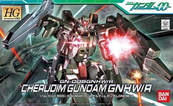 "Bandai #48 Cherudim Gundam GNHW/R ""Gundam 00"", Bandai HG 00"