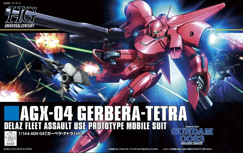 """Bandai #159 Gerbera Tetra """"Gundam 0083"""", Bandai HGUC"""