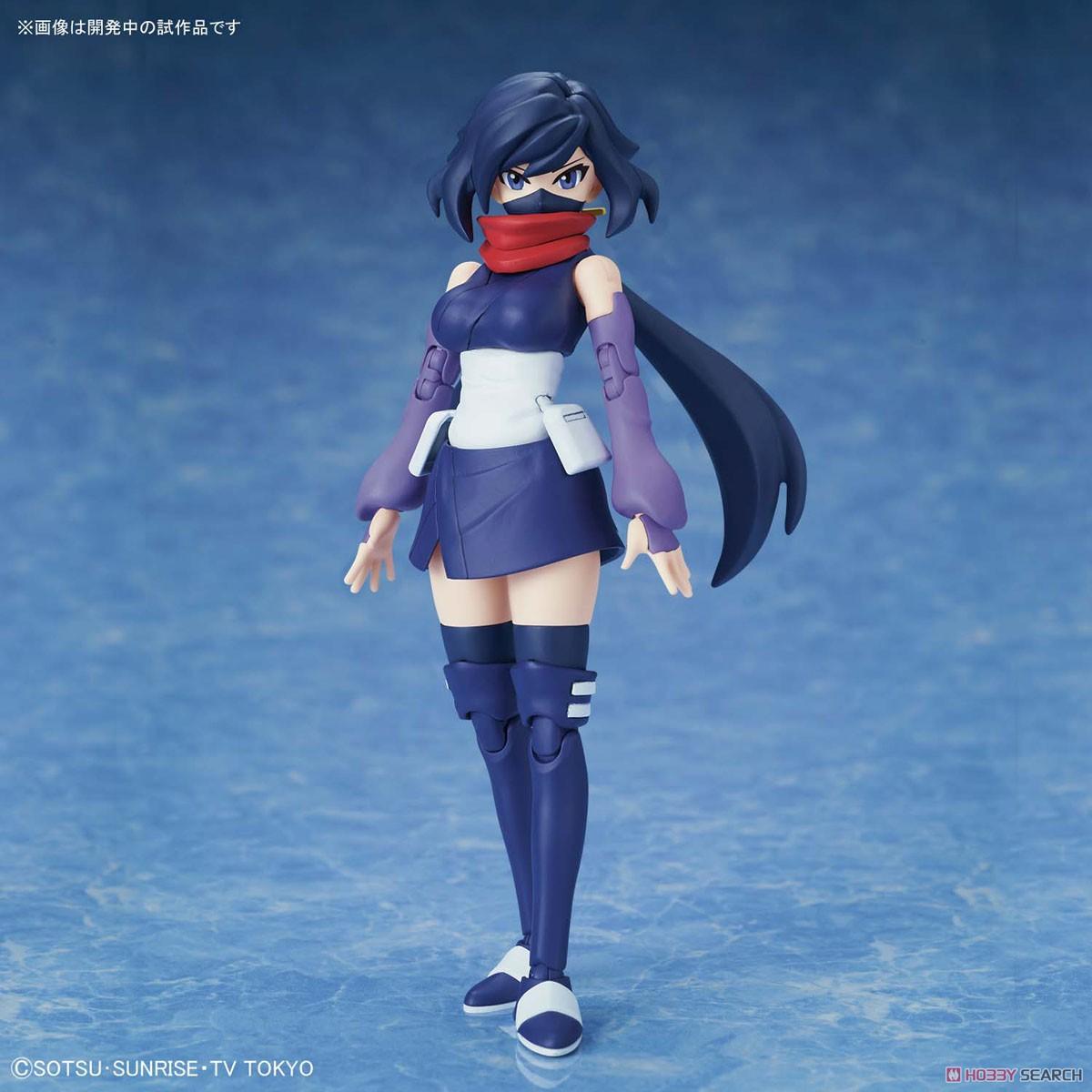 """Bandai #28 Diver Ayame """"Gundam Build Divers"""", Bandai Figure-rise Standard"""