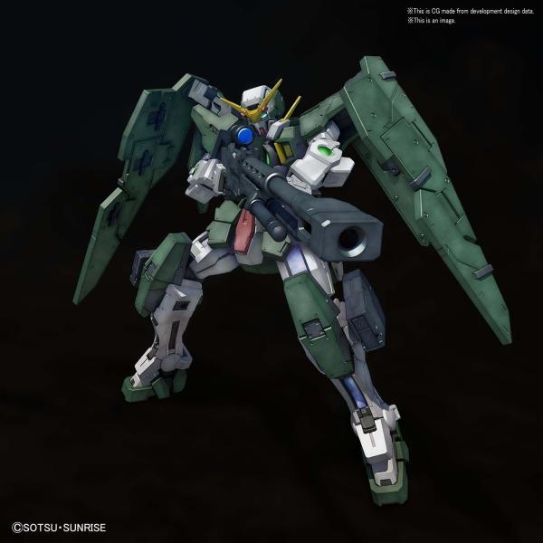 """Bandai Gundam Dynames """"Gundam 00"""", Bandai MG 1/100"""