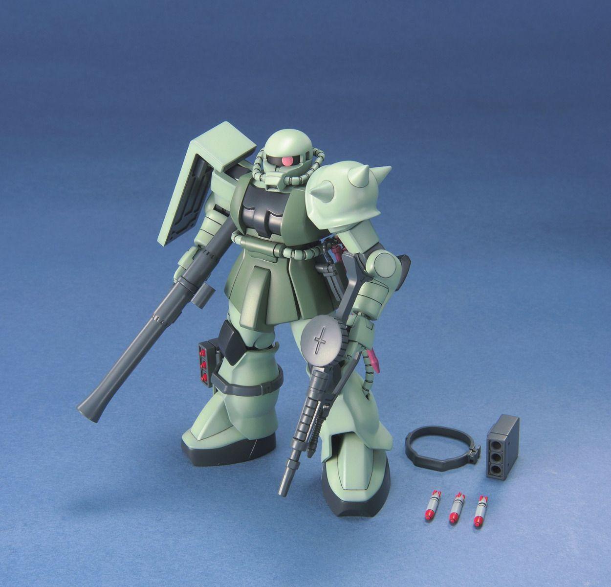 "Bandai #40 MS-06 Zaku II ""Mobile Suit Gundam"", Bandai HGUC"