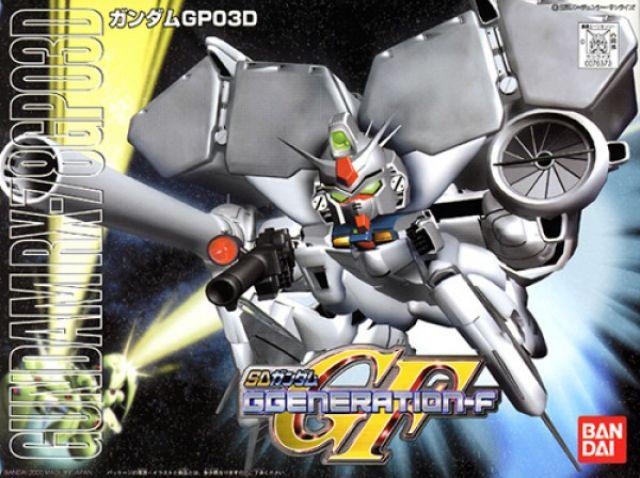 """Bandai Bb#207 RX-78GP03 Gundam GP03 Dendrobium """"Gundam 0083"""", Bandai SD"""
