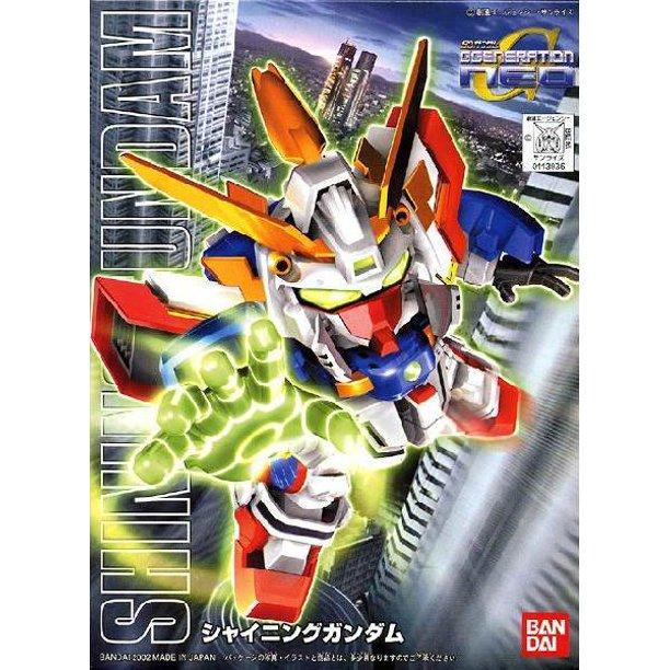 """Bandai BB#239 Shining Gundam """"G Gundam"""", Bandai SD"""