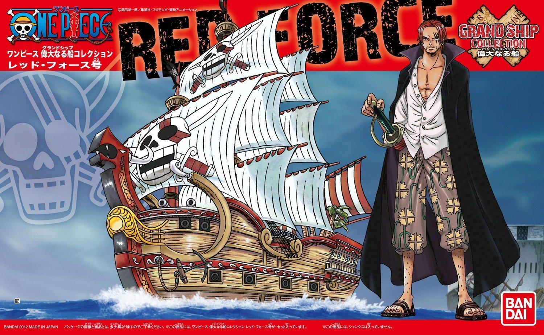 Bandai 04 Red Force Model Ship, Bandai One Piece GSC