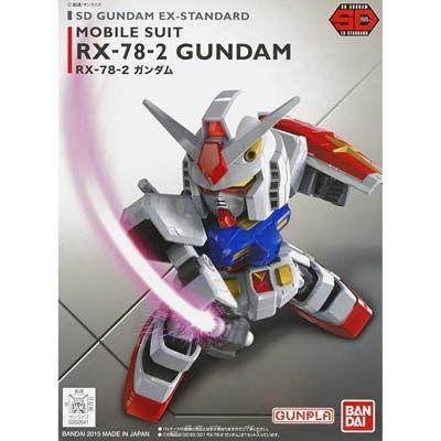 Bandai 001 RX-78-2 Gundam, Bandai SD EX-Standard