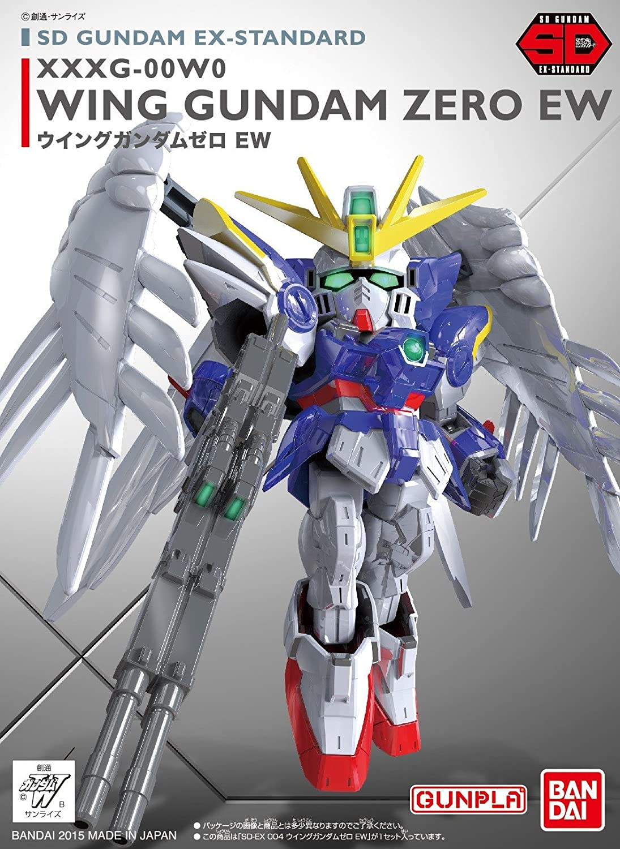 "Bandai 004 Wing Gundam Zero (EW), ""Gundam Wing: Endless Waltz"", Bandai SD EX-Standard"