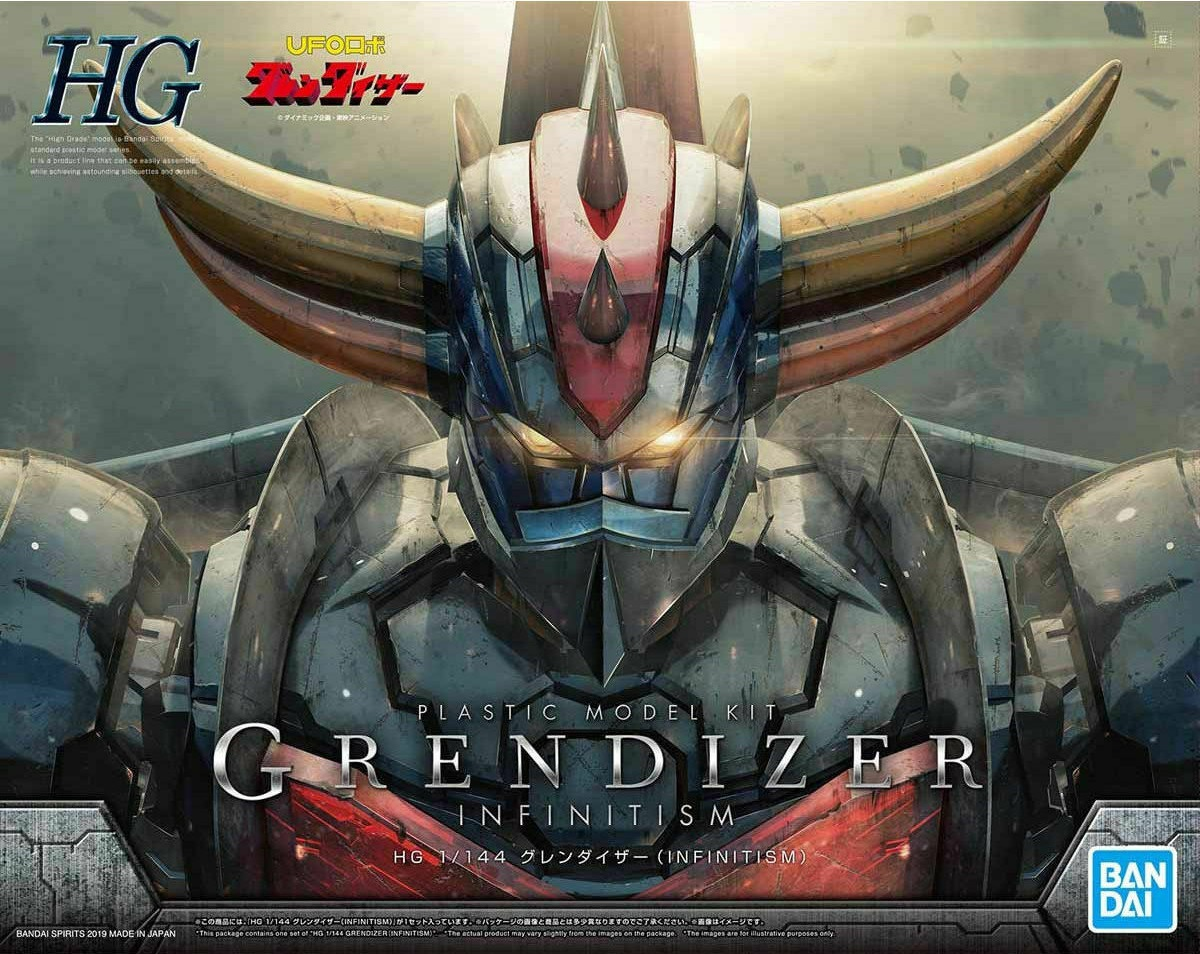 "Bandai Grendizer (Infinitism Ver.) ""Mazinger Z"", Bandai HG 1/144"