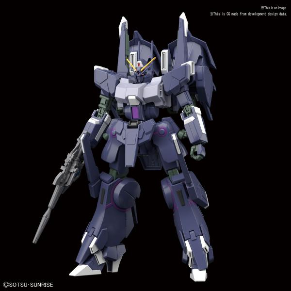 "Bandai #225 Silver Bullet Suppressor ""Gundam NT"", Bandai HGUC 1/144"