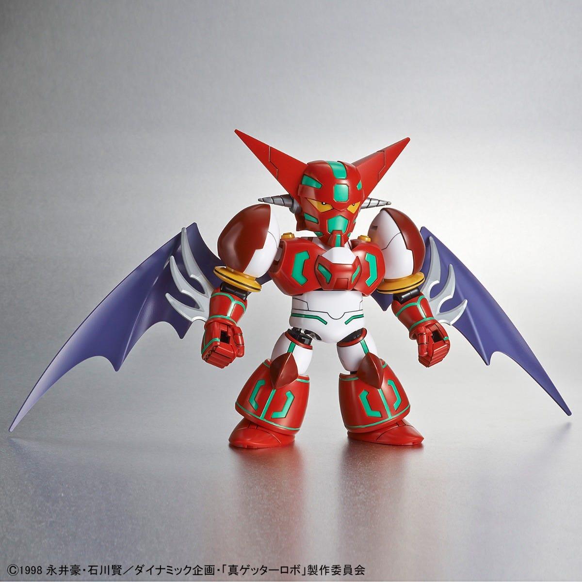 "Bandai Shin Getter ""Shin Getter Robo"", Bandai SDCS"