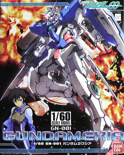 "Bandai Gundam Exia ""Gundam 00"", Bandai 1/60 00"