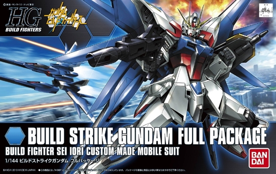 "Bandai #01 Build Strike Gundam Full Package ""Gundam Build Fighters"", Bandai HGBF"