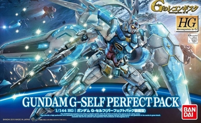 "Bandai #17 Gundam G-Self with Perfect Pack ""Gundam Reconguista in G"", Bandai HG G-Reco 1/144"