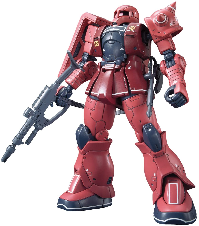 "Bandai #13 MS-05S Char Aznable's Zaku I ""Gundam The Origin"", Bandai HG 1/144"