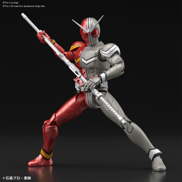 "Bandai Kamen Rider Double Heat Metal ""Kamen Rider"", Bandai Figure-rise Standard"