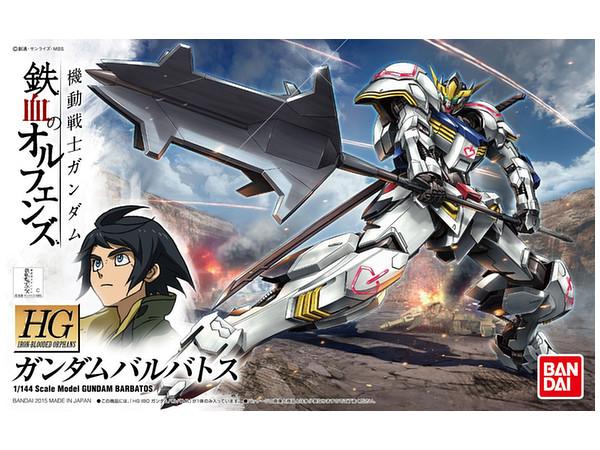 "Bandai #01 Gundam Barbatos ""Gundam IBO"", Bandai HG IBO"