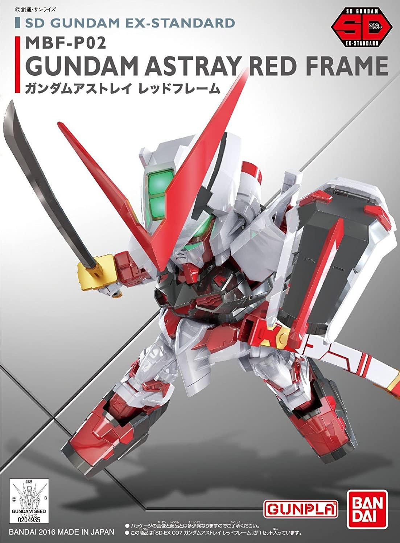 """Bandai BB#248 Gundam Astray Red Frame""""Gundam SEED Astray"""", Bandai SD"""