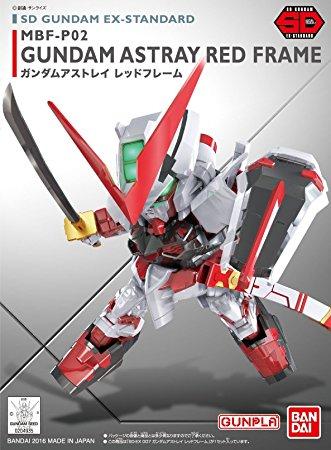 "Bandai 007 Gundam Astray Red Frame ""Gundam SEED Astray"", Bandai SD EX-Standard"