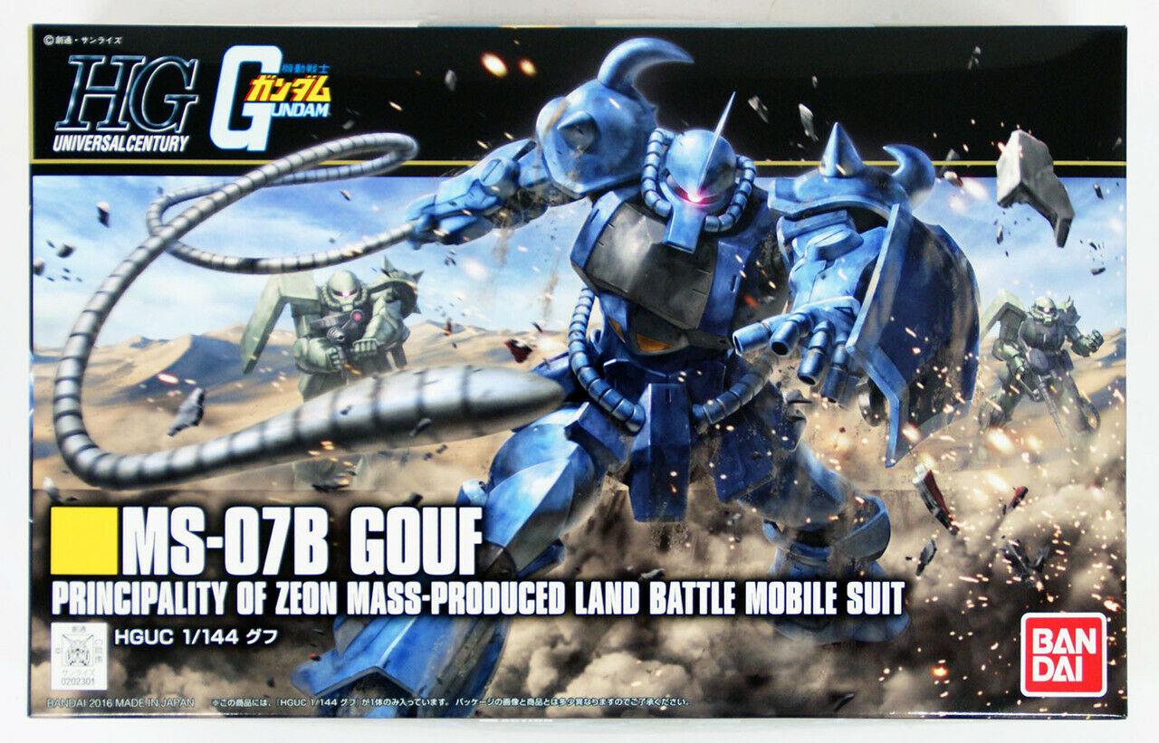 """Bandai #196 Gouf (Revive) """"Mobile Suit Gundam"""", Bandai HGUC"""