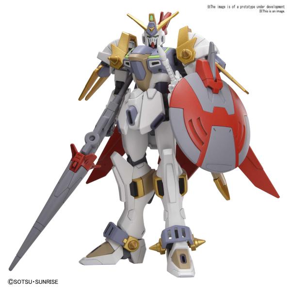 "Bandai #4 Gundam Justice Knight ""Gundam Build Divers"", Bandai Spirits HGBD 1/144"