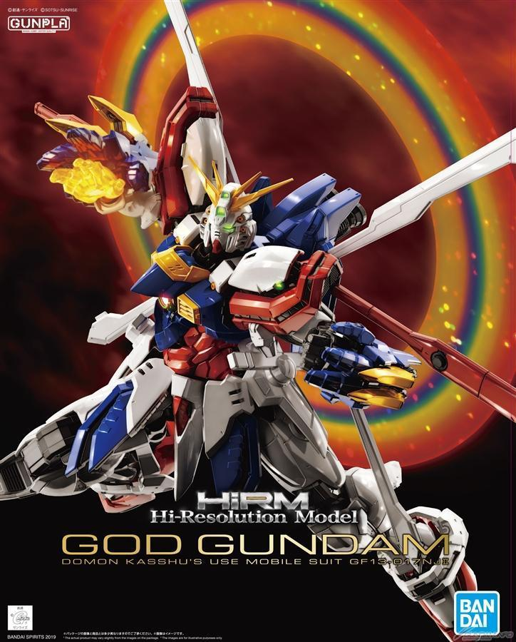 "Bandai God Gundam ""G Gundam"", Bandai Spirits Hi-Resolution Model"