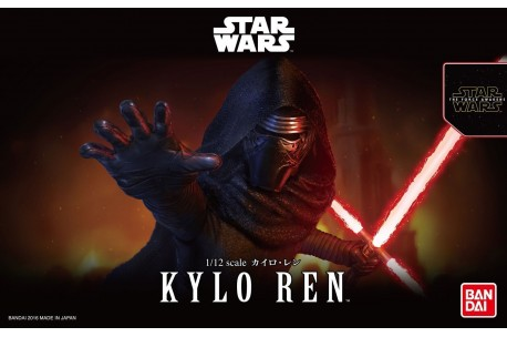 "Bandai Kylo Ren (Rise of Skywalker Ver.) ""Star Wars"", Bandai Spirits 1/12 Character Model"