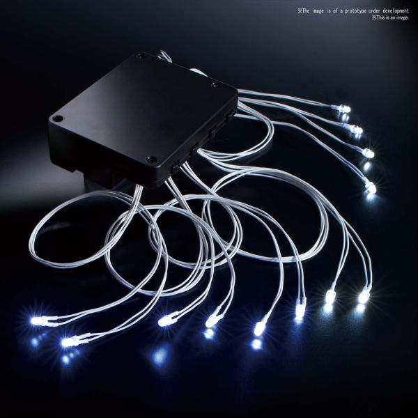 Bandai LED Unit [White] 12 Light, Bandai Spirits