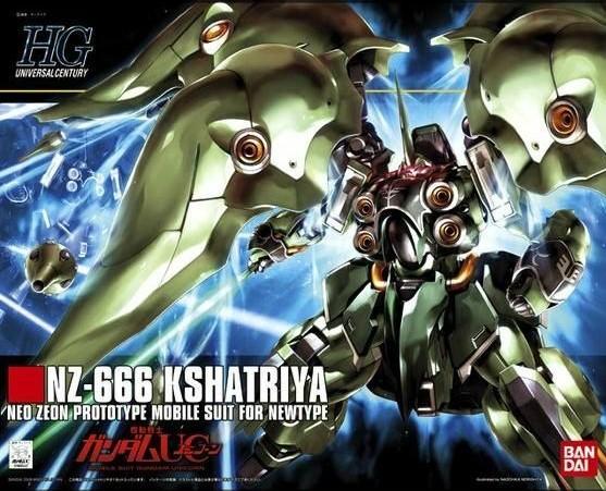 Bandai #99 NZ-666 Kshatriya, Bandai HGUC