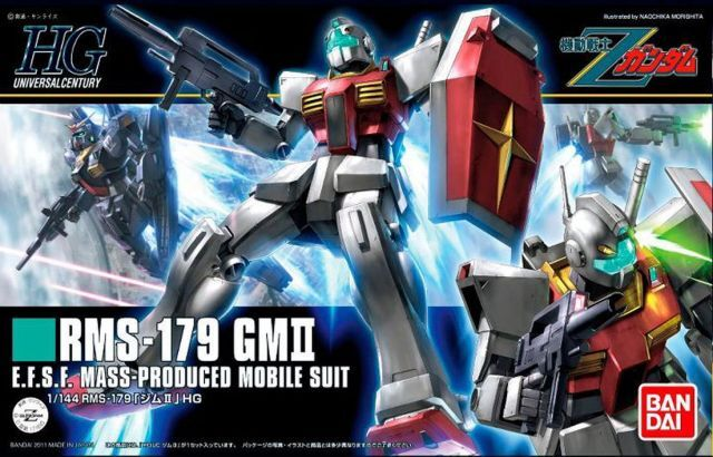 "Bandai #131 GM II ""Z Gundam"", Bandai HGUC"
