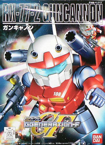 Bandai BB225 RX-77-2 Guncanon