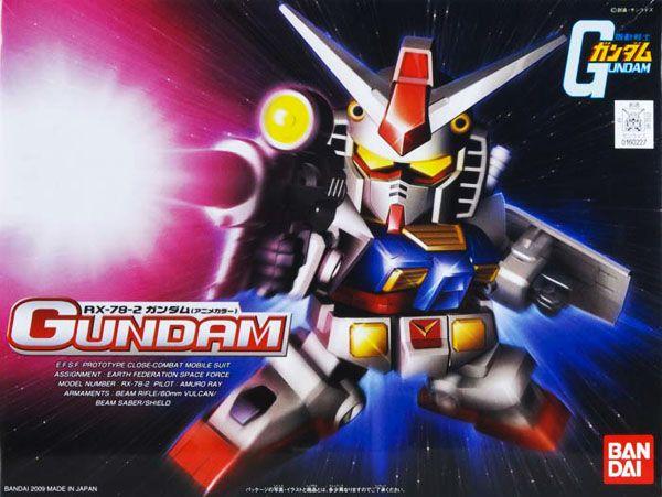 Bandai BB329 RX-78-2 Gundam (Animation Color)