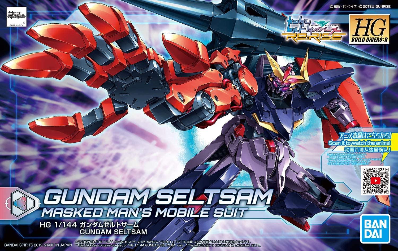 "Bandai #9 Gundam Seltsam ""Gundam Build Divers"", Bandai Spirits HGBD 1/144"