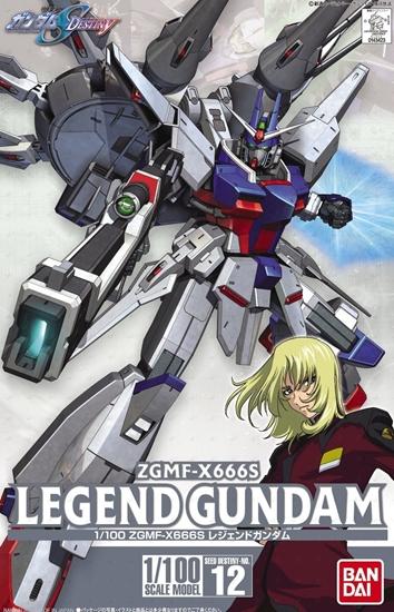 "Bandai #12 Legend Gundam SEED Destiny ""Gundam SEED Destiny"", Bandai 1/100"