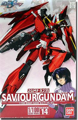 """Bandai #14 Savior Gundam """"Gundam SEED Destiny"""", Bandai 1/100"""